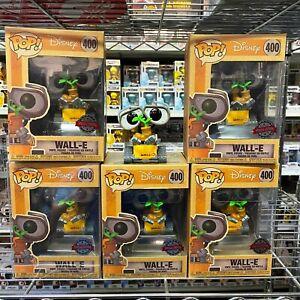 "Funko Pop Disney : WALL E #400 Vinyl Figure Special Exclusive ""Mint Box"""