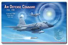 VINTAGE STYLE METAL SIGN F-106 Air Defense Command  24 x 16