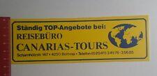 Aufkleber/Sticker: Canarias Tours ständig top Angebote bei (11111657)