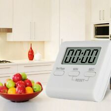 Large LCD Digital Kitchen Cooking Timer Count-Down Up Clock Loud Alarm Reminder