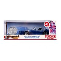 STRANGER THINGS 1:24 BILLY'S CHEVY CAMARO WITH COLLECTOR COIN