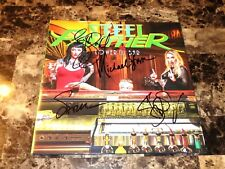 Steel Panther Band Signed Lower The Bar Limited Edition Green Record Vinyl + COA