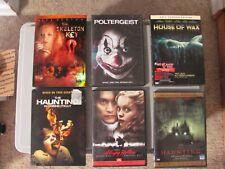 Horror Movie Lot (6 Dvd) Random Movies