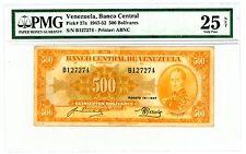 Venezuela ... P-37a ... 500 Bolivares ... 1947-52 ... *VF* PMG 25.