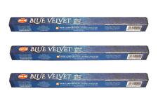 Hem Bulk Blue Velvet Incense Sticks 60 sticks Incense Free shipping