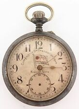 "`SUPER RARE / ANTIQUE ""FRENCH LINE"" SHIPPING Co POCKET WATCH, STUNNING MOVEMENT"