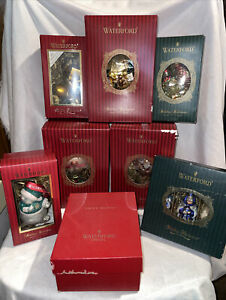 WATERFORD HOLIDAY HEIRLOOMS ORNAMENTS