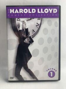 Harold Lloyd Collection Vol 1 rare 2 disc DVD BOX SET Hollywood silent movies