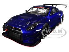 NISSAN GT-R NISMO GT3 AURORA FLARE BLUE PEARL 1/18 MODEL CAR BY AUTOART 81584