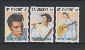 St Vincent - 1993, Elvis Presley set - MNH - SG 2047/9