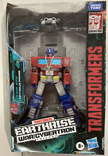 Transformers Generations WFC Optimus Prime Earthrise Leader Takara-Damaged Box*