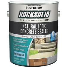 Rust-Oleum RockSolid 1 Gal Natural Look Clear Concrete Driveway Sealer 317928