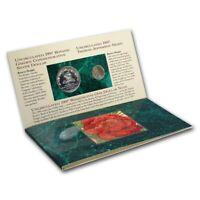 1997 3-Pc Botanic Garden Coin & Currency Set BU (w/Box & COA) Original packaging