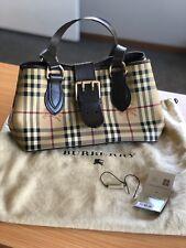 Burberry Haymarket Eden Handbag - Rare