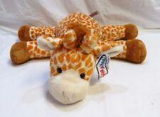 """MARY MEYER 14"""" Plush FLIP FLOPS GIRAFFE Laying Floppy Stuffed Animal Toy Soft"""