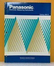 Panasonic 1984/5 Electronic Measuring Instruments Catalog.