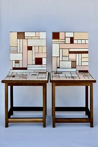 Pair of Post Modern Art Chair Sculptures