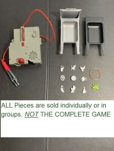 COMPLETE set 11 Replacement Parts Pieces for 2012 Funny Ailments Operation Game