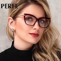 Women Retro Cats Eye Style Optical Glasses Clear Lens Myopia Glasses Frame New