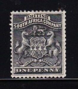 Album Treasures  Rhodesia Scott #  2  1p  Coat of Arms  Mint Hinged