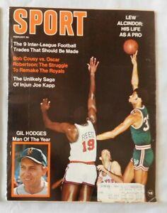 Lew Alcindor Milwaukee Bucks February 1970 SPORT Magazine
