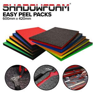 Shadow Foam Easy Peel (600mm x 420mm) | Cut and Peel Customisable Foam Pack