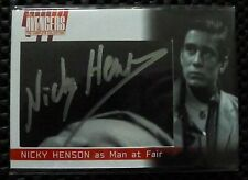 The Avengers Complete Series Trading Cards Nicky Henson (NH6) Cut Autograph Card