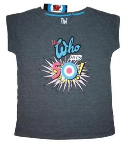 The Who Hits 50 Ladies t shirts