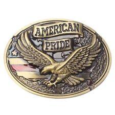 Flying Eagle Belt Buckle Western Cowboy Native American Motorcyclist (EG-13-G)
