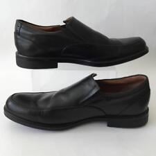 Clarks Mens Black Leather Gabson Step Dress Slip On Shoe Size 11 - 26102900