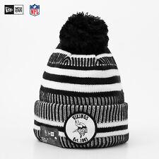 NEW ERA NFL 19 Onfield Sport Knit Minnesota Vikings Team Beanie Mütze Fleece NEW