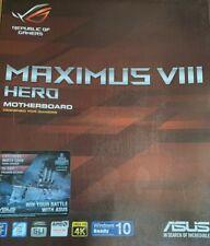 ASUS ROG Maximus VIII Hero Intel Z170 ATX Mainboard Sockel 1151 i7 6700K
