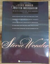 PARTITION MUSIQUE GUITARE PIANO VOCAL  STEVIE WONDER WRITTEN MUSIQUARIUM