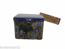 "Harry Potter Tin Box with Lock 4.5"" x 3.5"" x 3.5"" BRAND NEW"