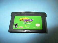 Crash & Spyro Superpack (Nintendo Game Boy Advance) SP Game
