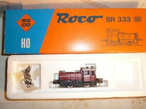 """ROCO HO """" Locomotive Diesel BR 333 de la DB """" Réf.04163A"""