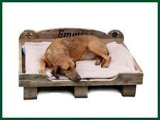 Einführungspreis: MCD Bett Hundebett UNIKAT Palettenmöbel Hund Paletten Hunde -M