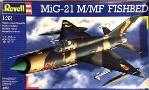 KHS-REVELL- SCALE 1:32 MIG-21 M/MF FISHBED MODEL KIT (#4763)-1033