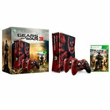 XBOX 360 Gears of War Limited Edition Console System Video Game 1 2 3