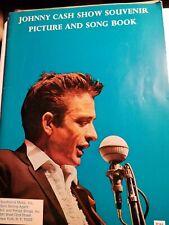 JOHNNY CASH SHOW SOUVENIR PIX AND SONGBOOK 1966