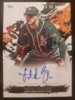 SETH BROWN 2021 TOPPS INCEPTION AUTO RC #/249 OAKLAND ATHLETICS SPRC ROOKIE RC