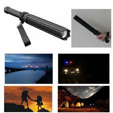 Baseball Bat Telescopic Flashlight aluminum LED Emergency Self Defense Torch