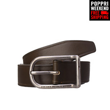 POPPRI WEEKEND: DIESEL BLACK GOLD Size 95 38 BANGELS Leather Belt Made in Italy