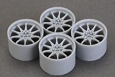 Hobby Design 1/24 18inch Rays CE28 Wheels Set (4 Wheels)