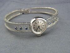 schöne Armbanduhr  Condor 25  800/-Silber   70er Jahre