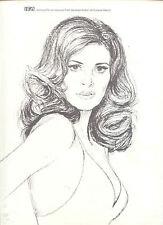 1974 RARE, SEXY 'RAQUEL WELCH' IFA AGENCY PR AD