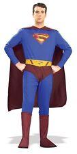 THE SUPERMAN HALLOWEEN COSTUME ADULT SIZE  MEDIUM