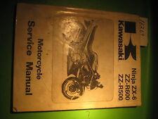 KAWASAKI ZX600-C1 ZX500-D1 1990 SERVICE MANUAL USED OEM # 99924-1128-01
