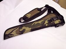 """Camouflage LEFT Hand Draw BANDOLEER Holster for ROSSI RANCH HAND w/ 12"""" barrel"""