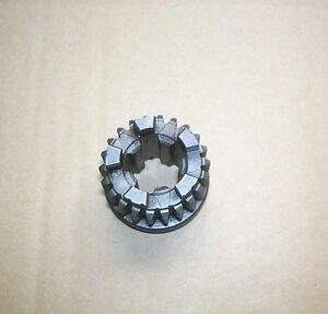 BSA BANTAM D7 2ND GEAR MAINSHAFT 22T WITH SOLID SPLINE CENTRE OEM 90-1357  F901